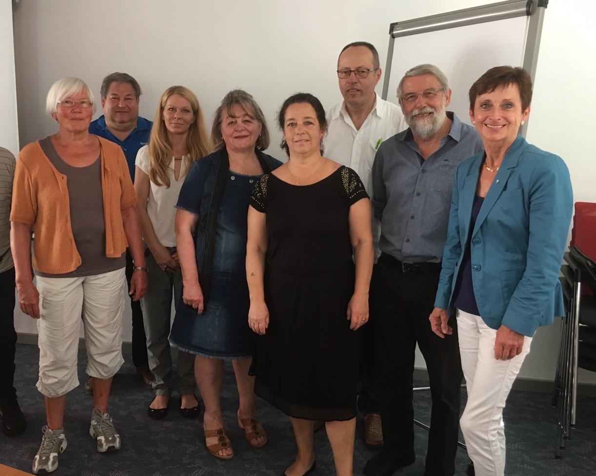 Teilnehmer der OSPE-Mitgliederversammlung