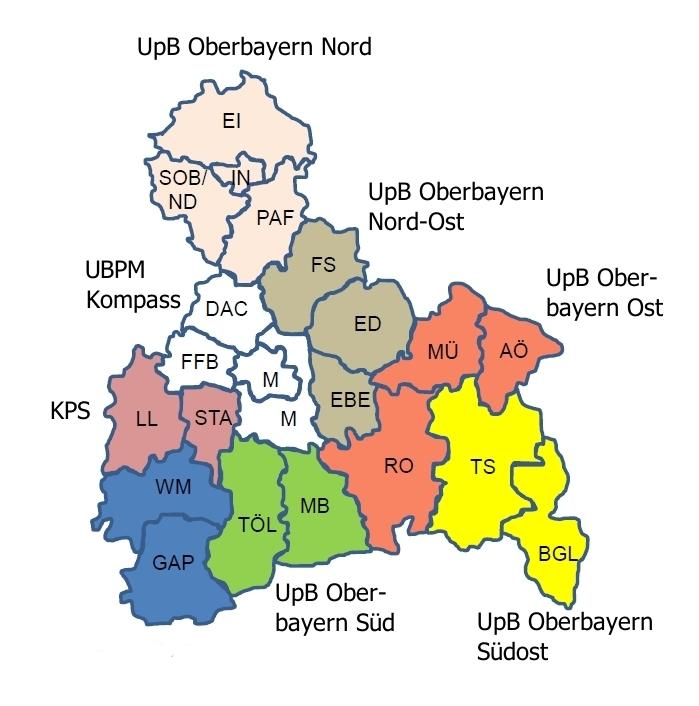 Beschwerdestellen Oberbayern Zuständigkeiten